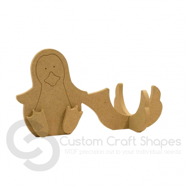 Wonky Penguin Chocolate Orange Holder (6mm)