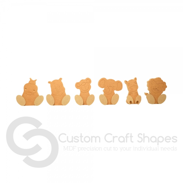 Wonky Safari Set (18mm)