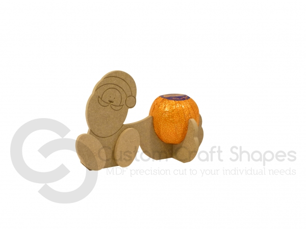 Wonky Santa Chocolate Orange Holder (6mm)
