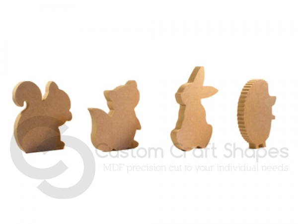 Woodland Family Set (18mm)